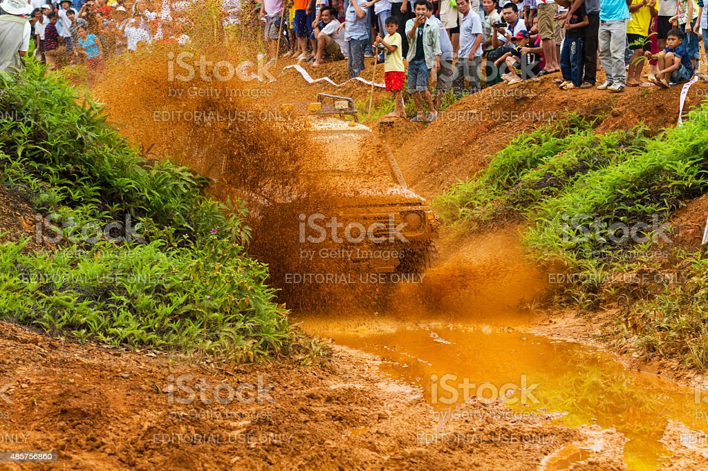 Off-road car stock photo
