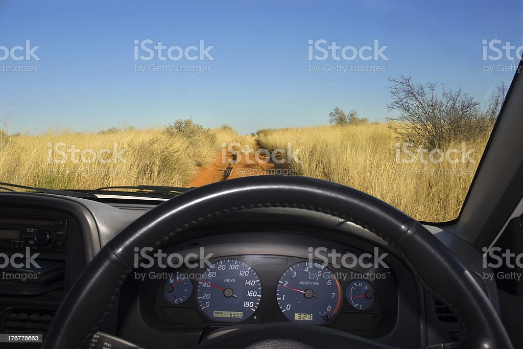 Offroad driving royalty-free stock photo