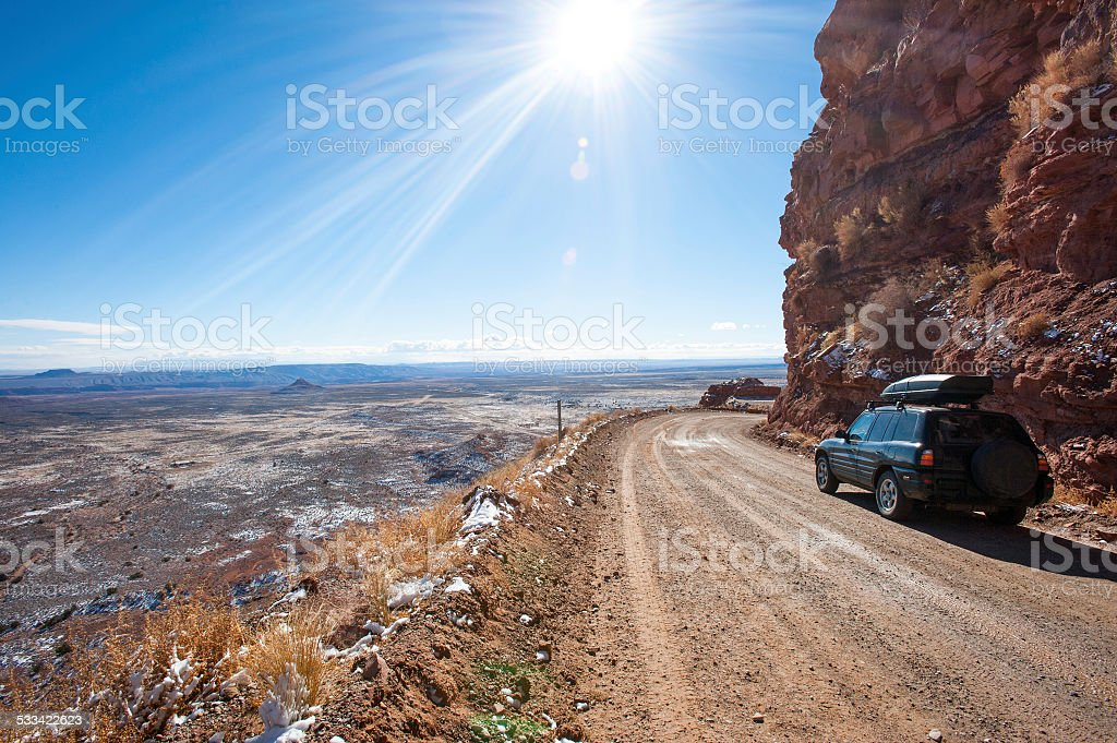 Offroad driving stock photo