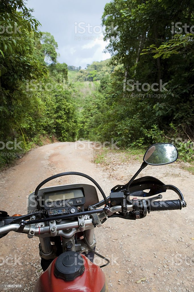 Offroad motobike travel royalty-free stock photo