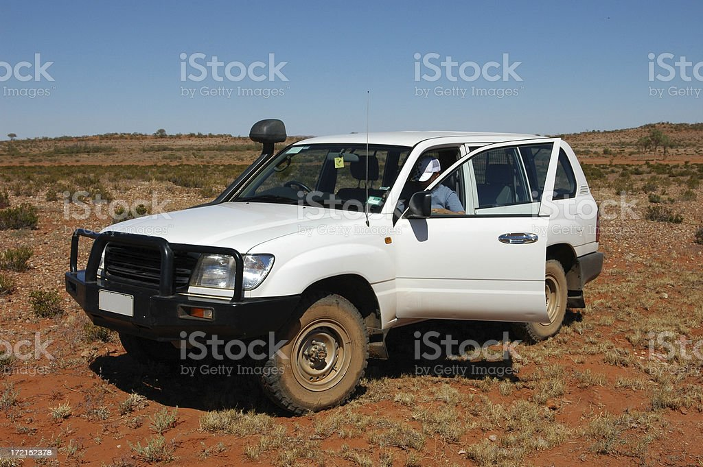Offroad Outback royalty-free stock photo