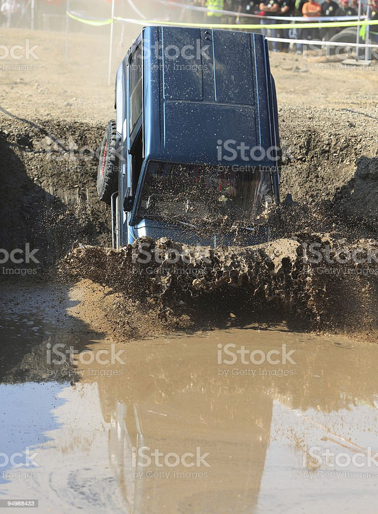 Off-road royalty-free stock photo