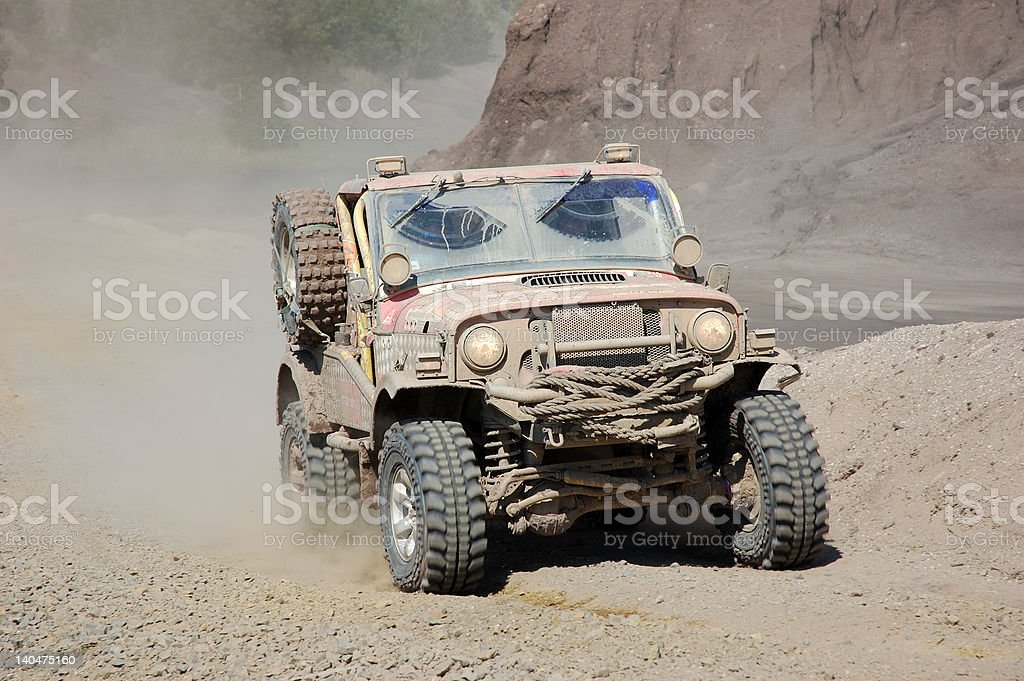 Offroad Race royalty-free stock photo
