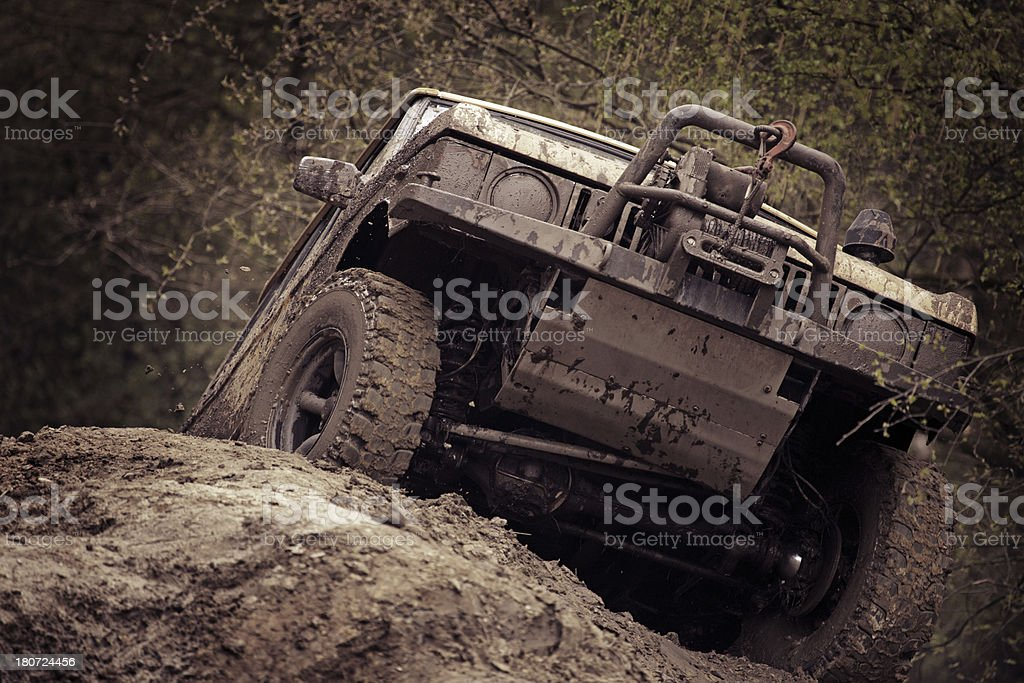 off-road race royalty-free stock photo