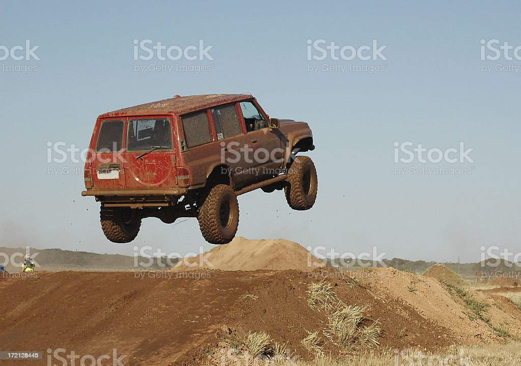 offroad racing royalty-free stock photo