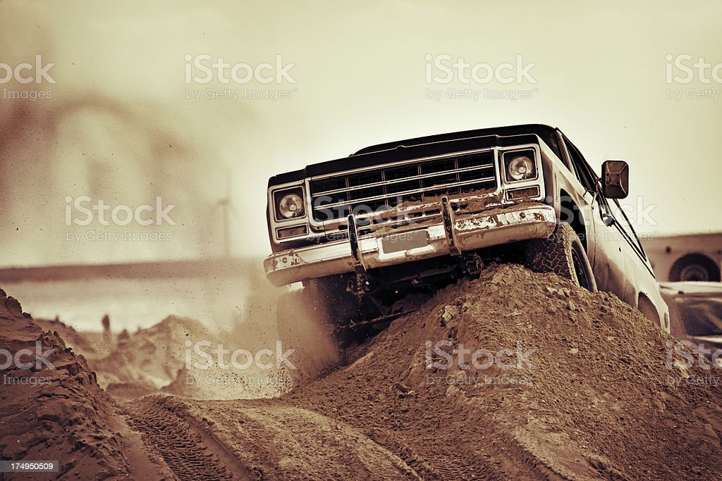 off-road ride royalty-free stock photo