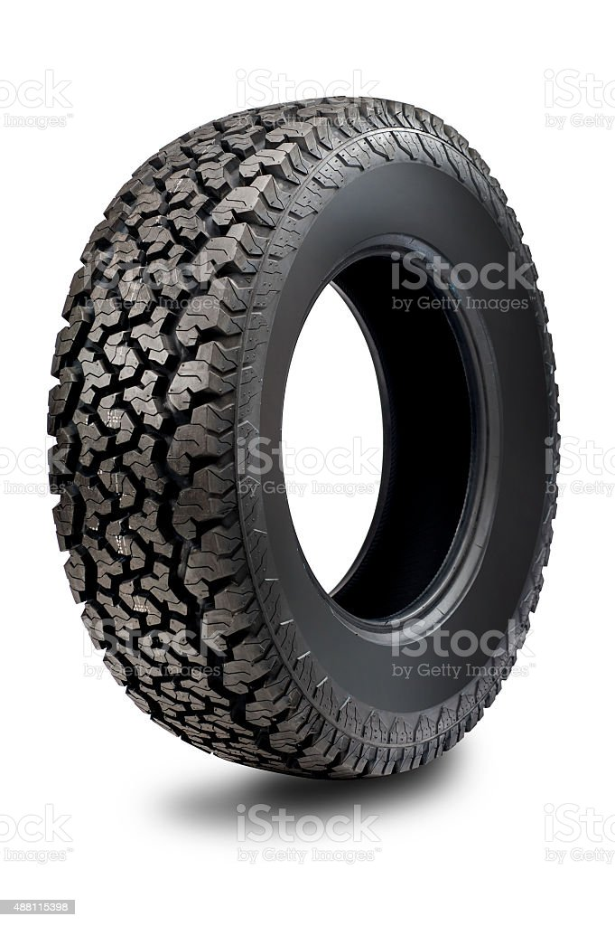Off-Road Tire stock photo