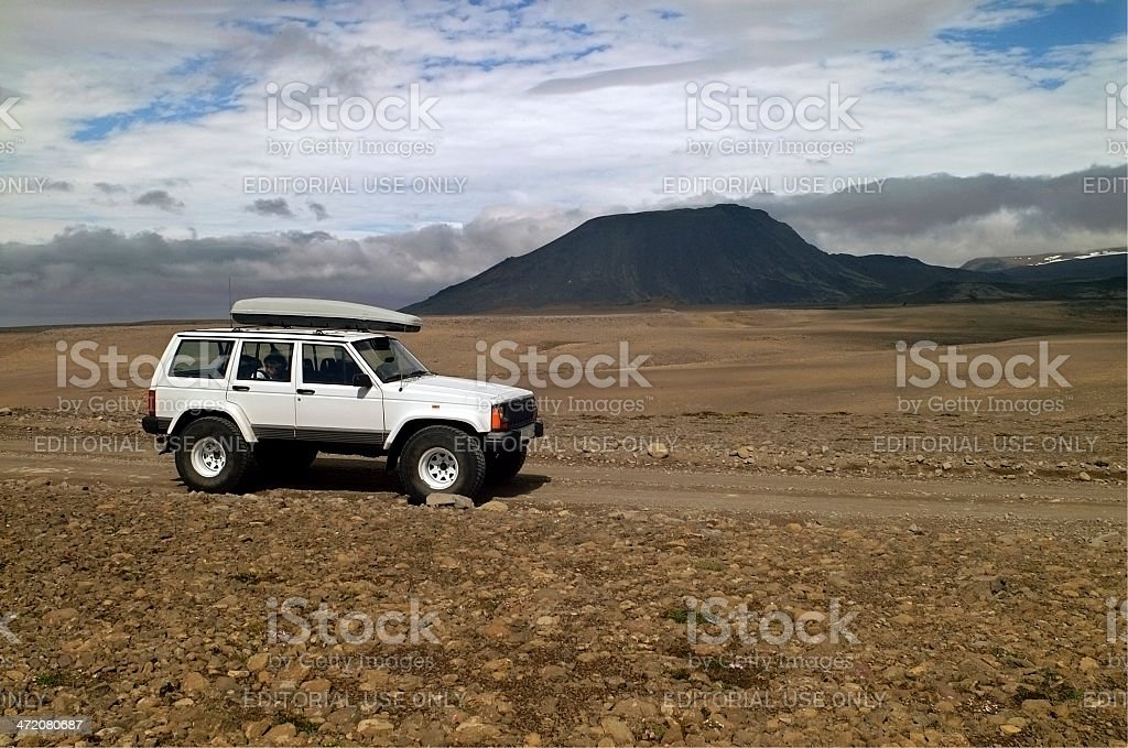 Offroad Trip, Iceland royalty-free stock photo