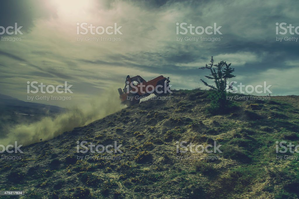Off-Road Vehicle (4x4) stock photo