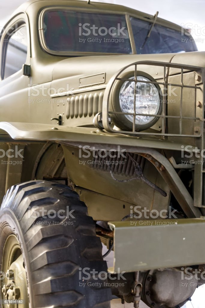 Off-road vehicle stock photo