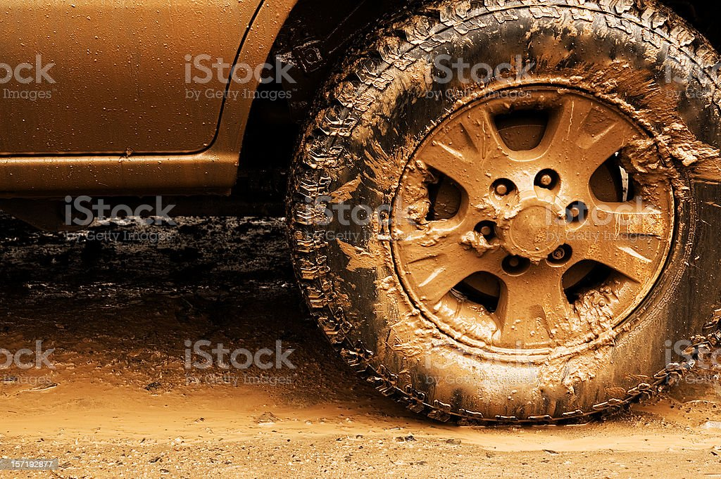 Offroading royalty-free stock photo