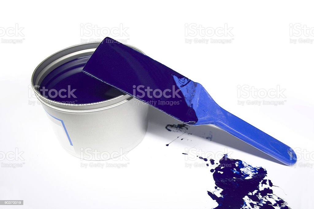 Offset ink stock photo