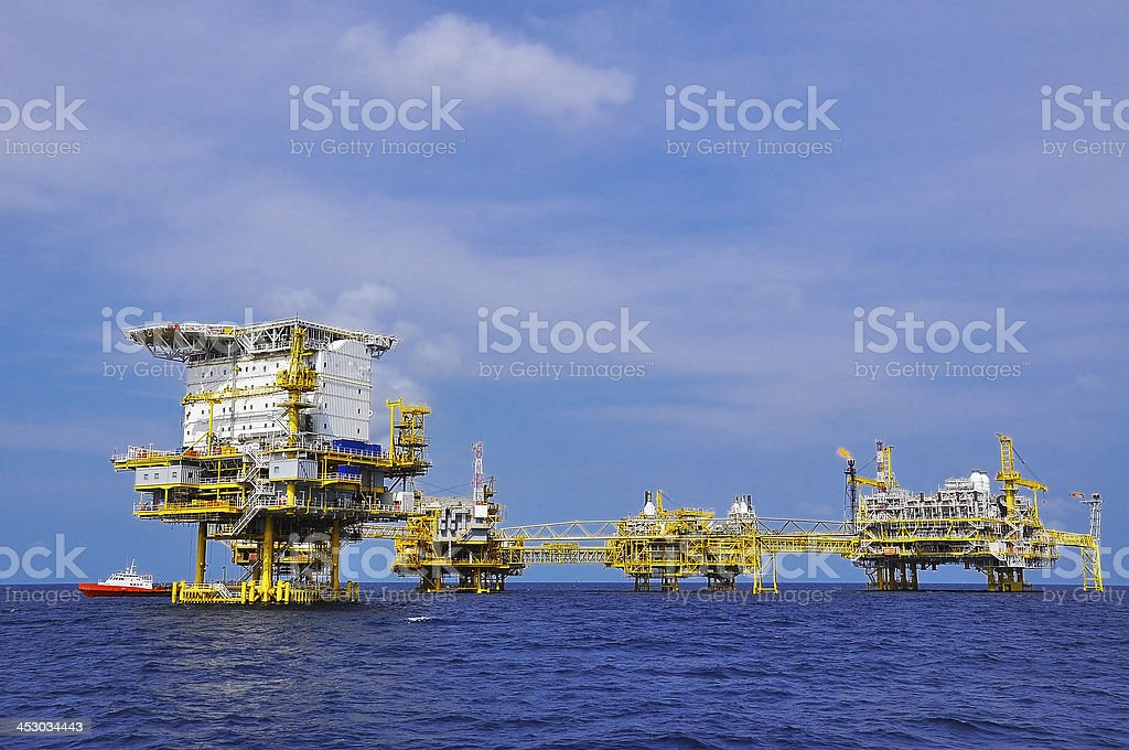 offshore royalty-free stock photo