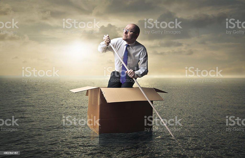 Offshore stock photo