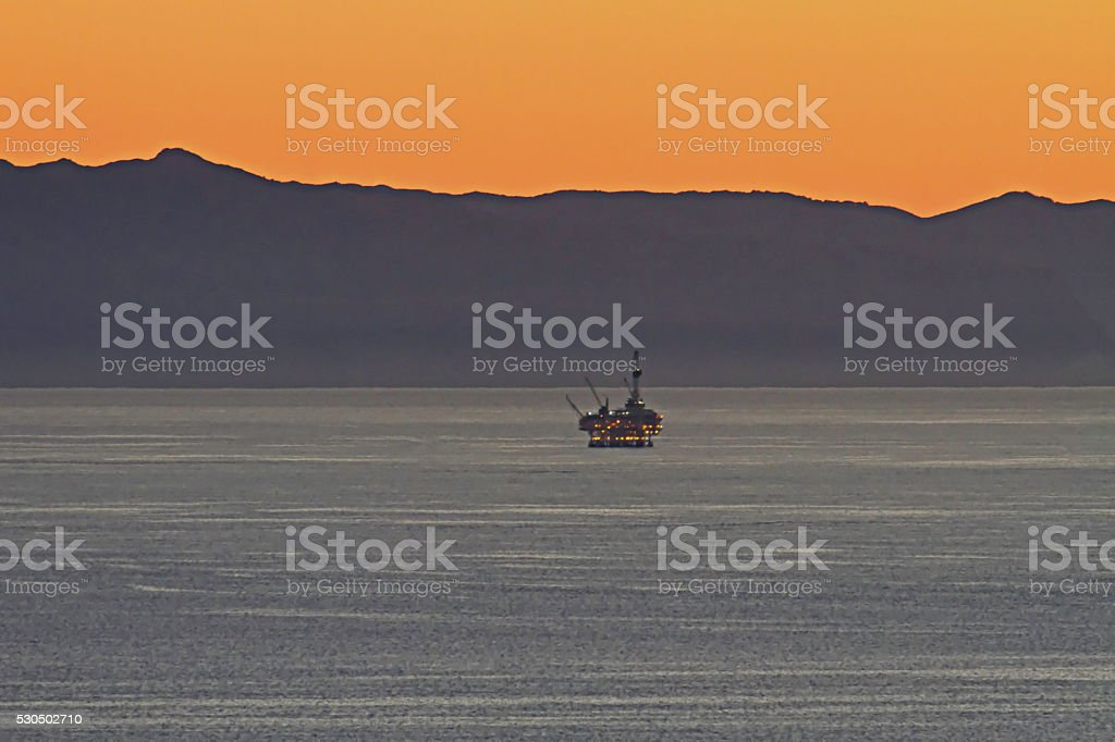 Offshore Rig. stock photo