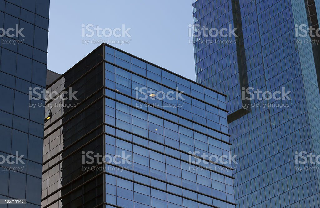 Ofice buildings royalty-free stock photo
