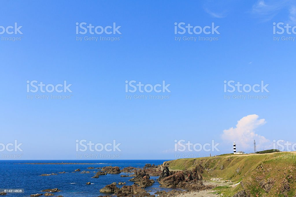 Oga Peninsula stock photo
