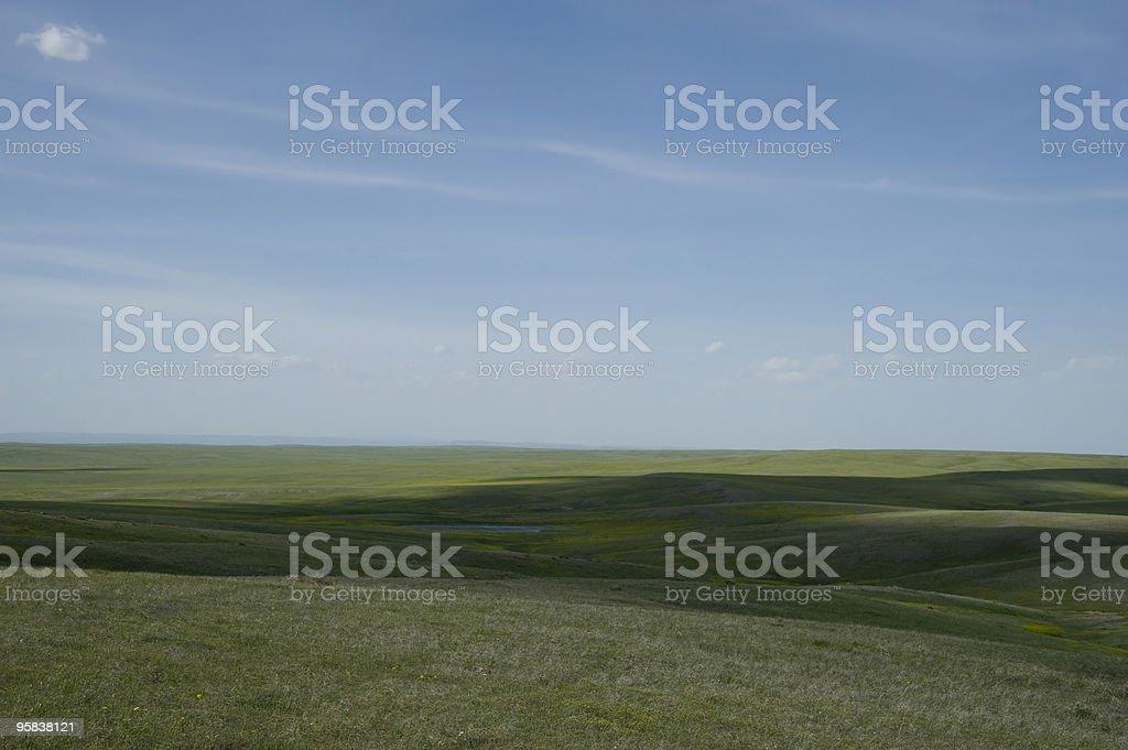 Oglala National Grasslands - Nebraska royalty-free stock photo