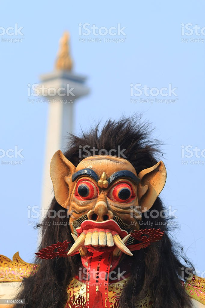 Ogoh-ogoh stock photo