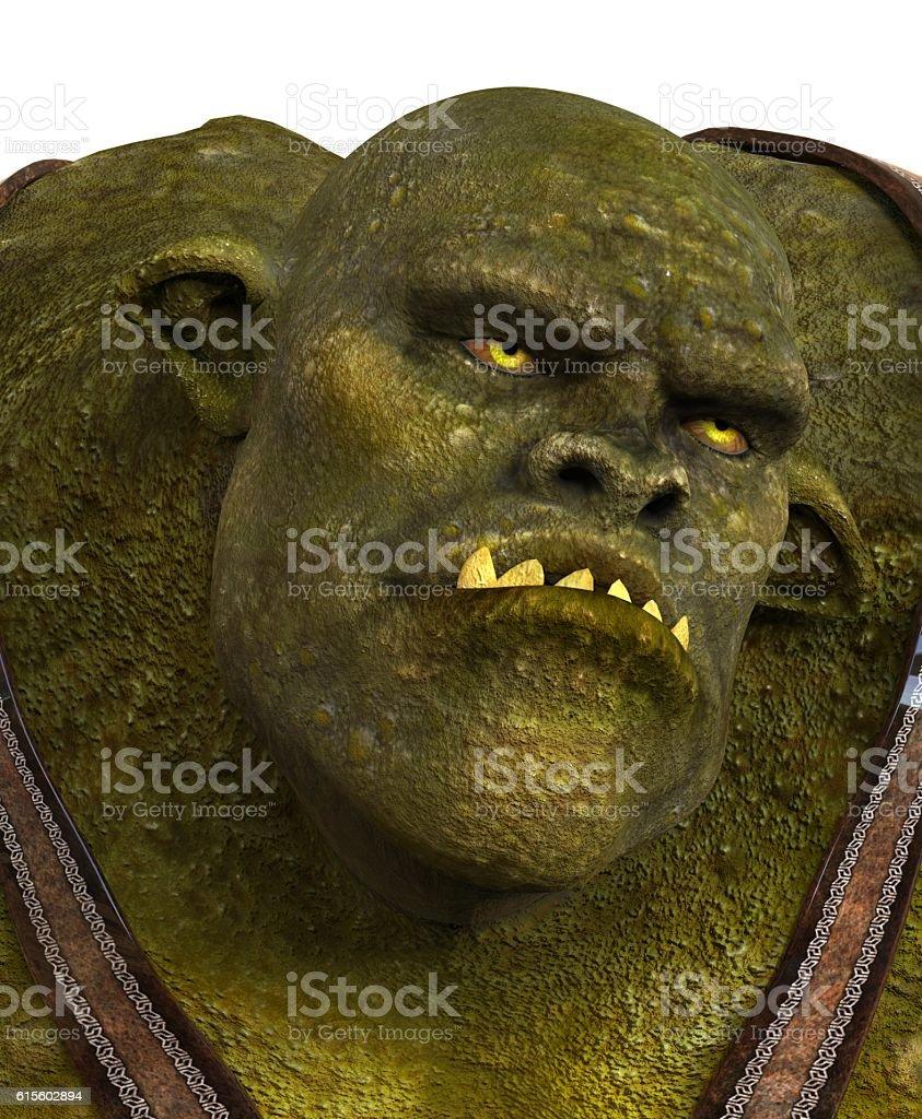 Ogre 3D Illustration stock photo