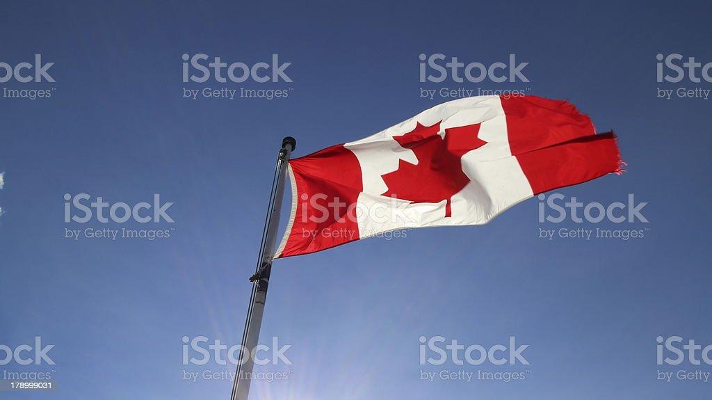 Oh Canada royalty-free stock photo