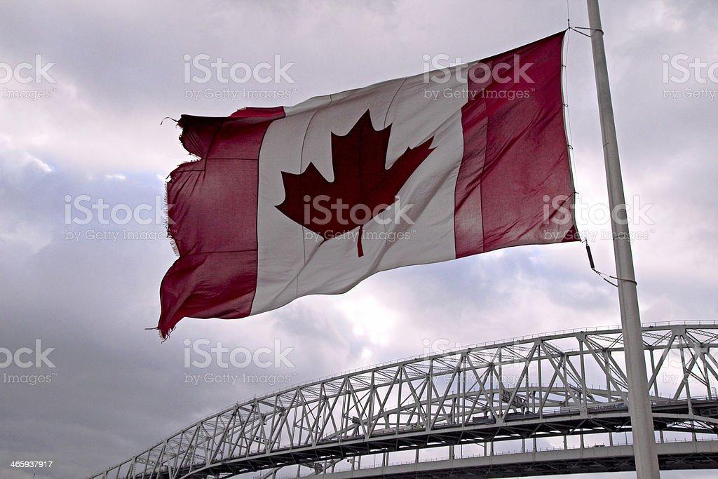Oh Canada! stock photo