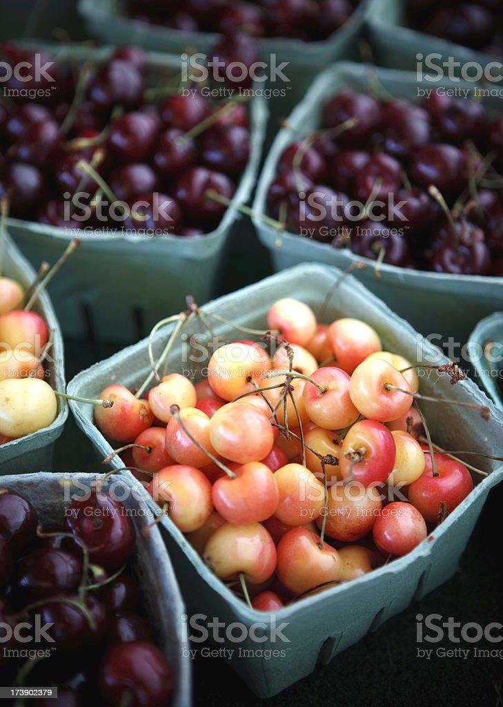 oh cherries stock photo