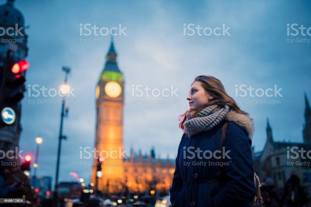 Oh London stock photo