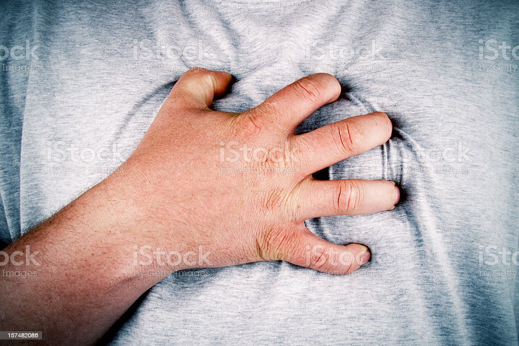 Oh My Chest! stock photo