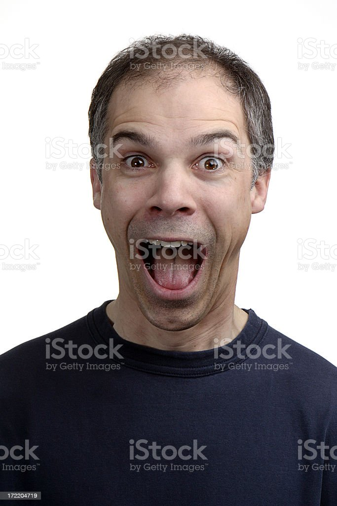 Oh My Goodness! royalty-free stock photo