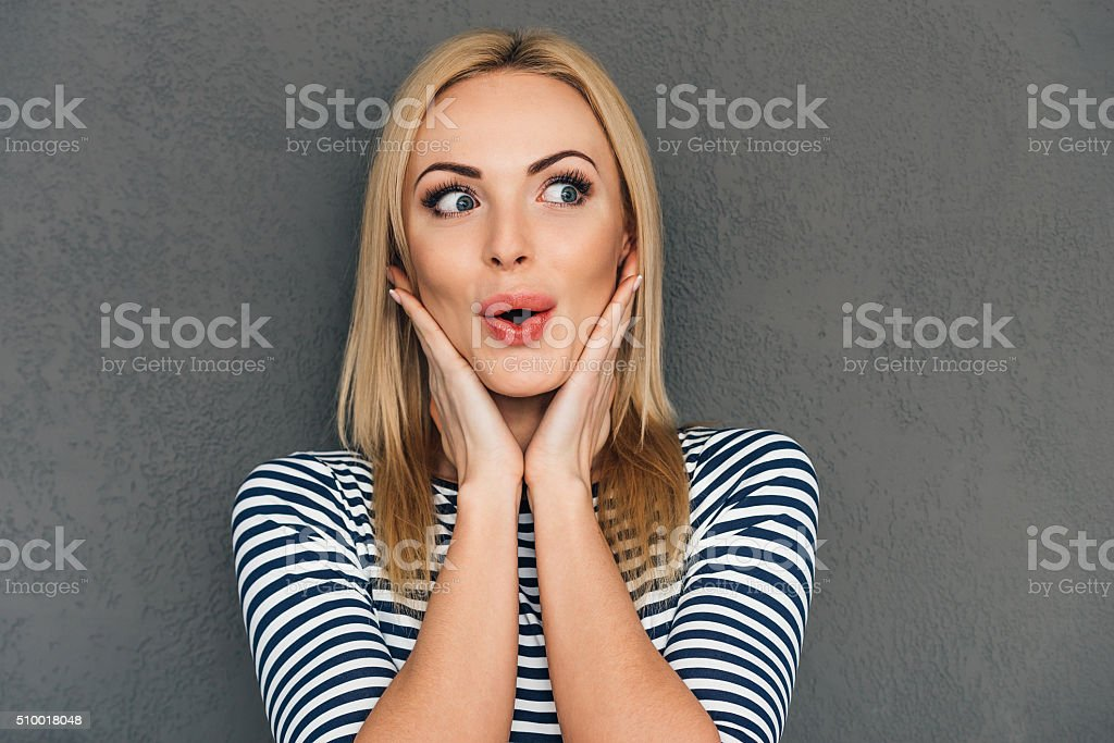 Oh! royalty-free stock photo