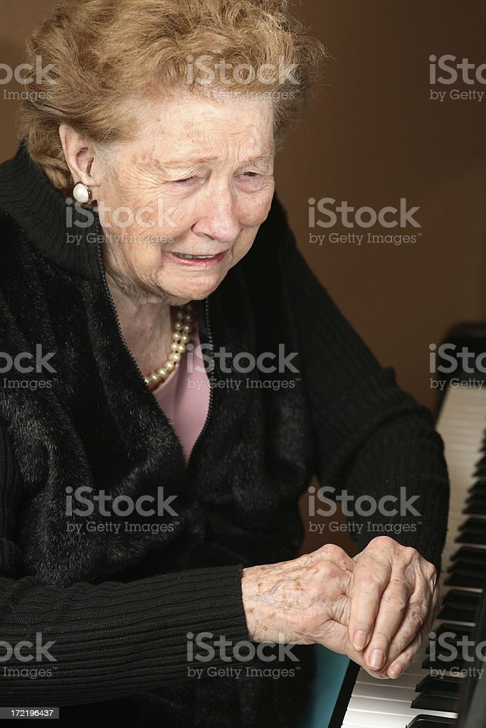 oh the pain royalty-free stock photo