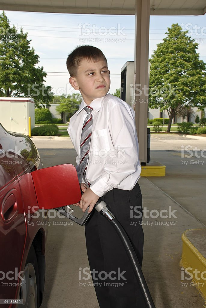 Oh these Gas prices. royalty-free stock photo