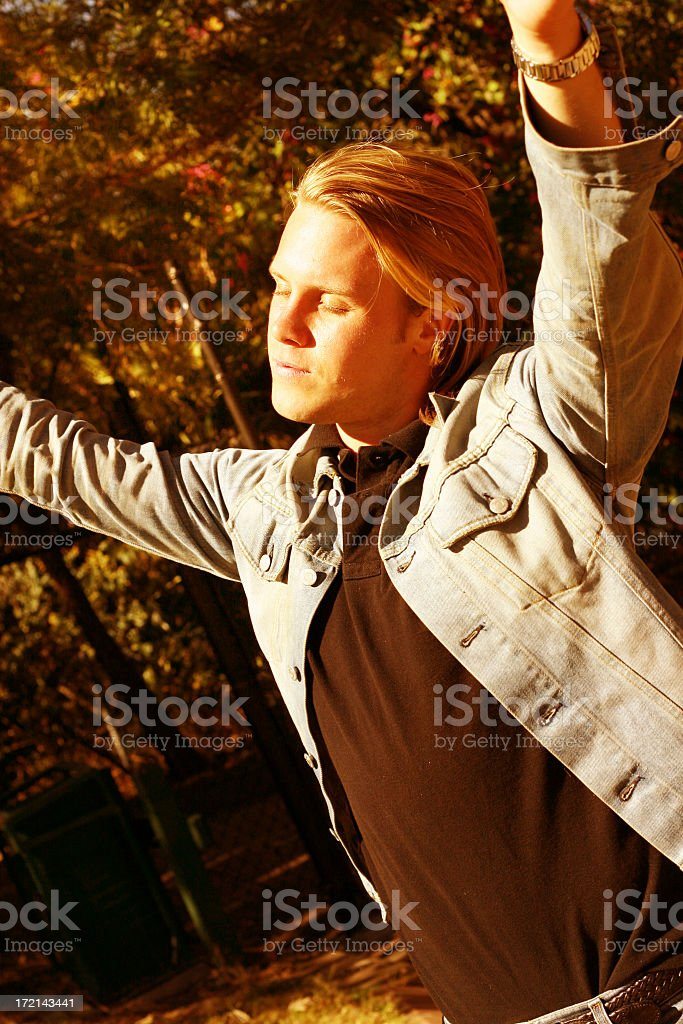 Oh What a Beautiful Morning royalty-free stock photo