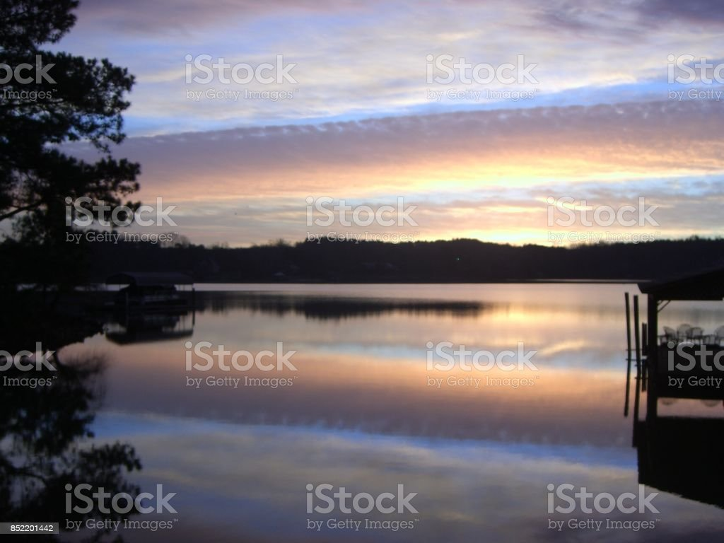 Oh what a beautiful morning! stock photo