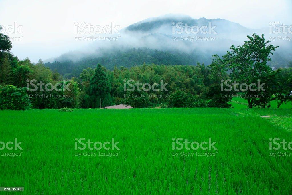 Ohara village stock photo