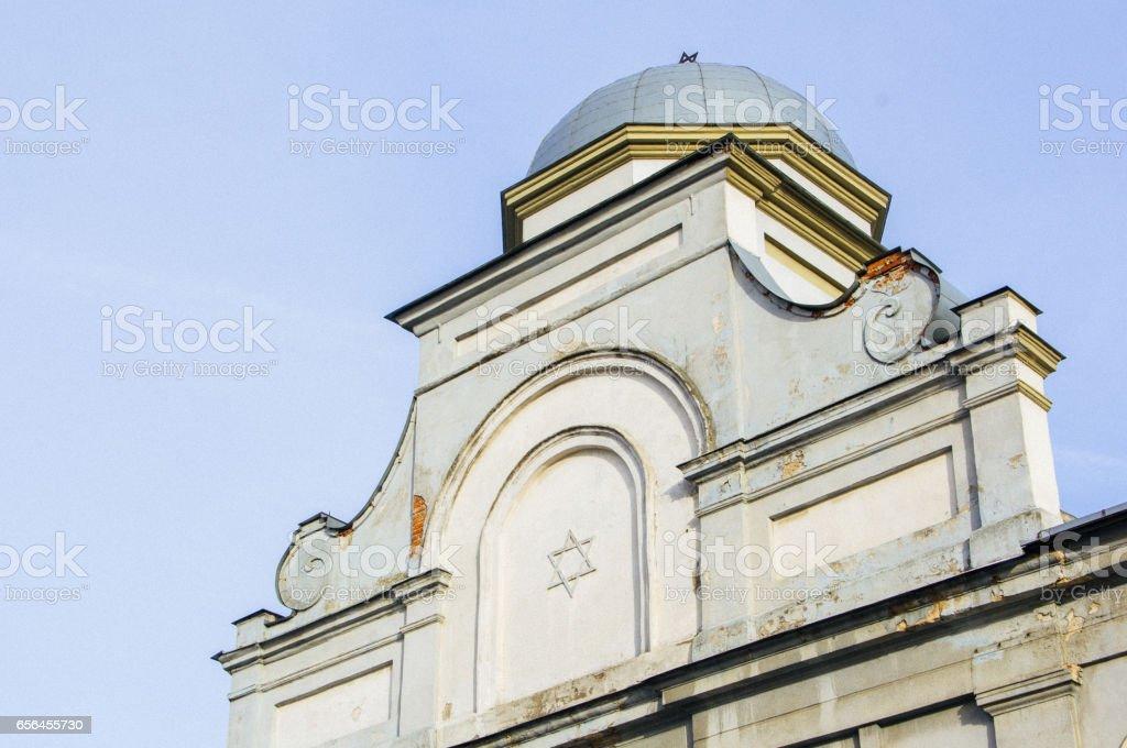 Ohel Jakov Choral Synagogue (Choralinė Sinagoga Ohel Jakov) stock photo
