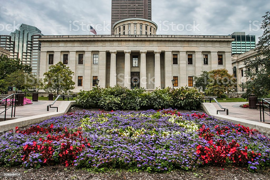 Ohio State Capitol Building stock photo