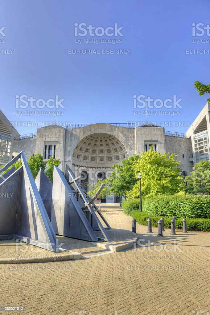 Ohio State Football stock photo