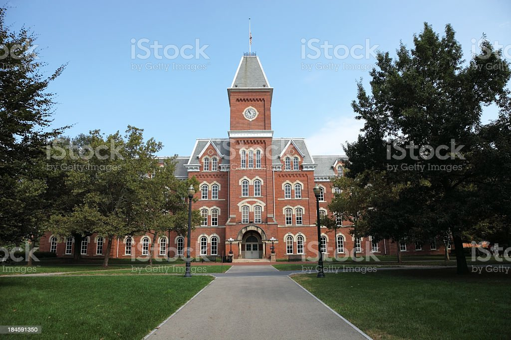 Ohio State University royalty-free stock photo