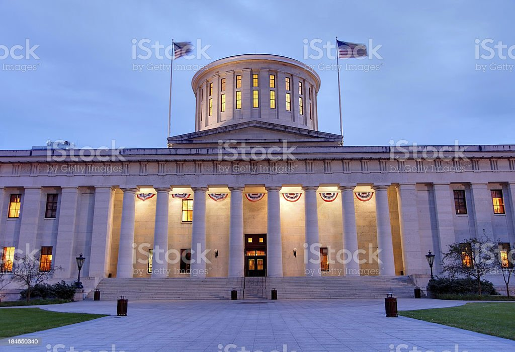 Ohio Statehouse stock photo