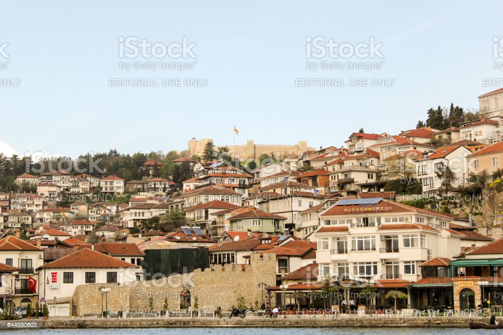 Ohrid, Macedonia stock photo