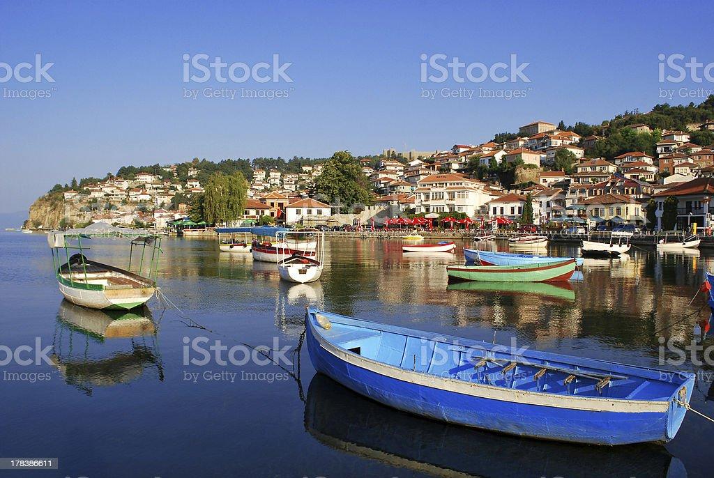 Ohrid stock photo