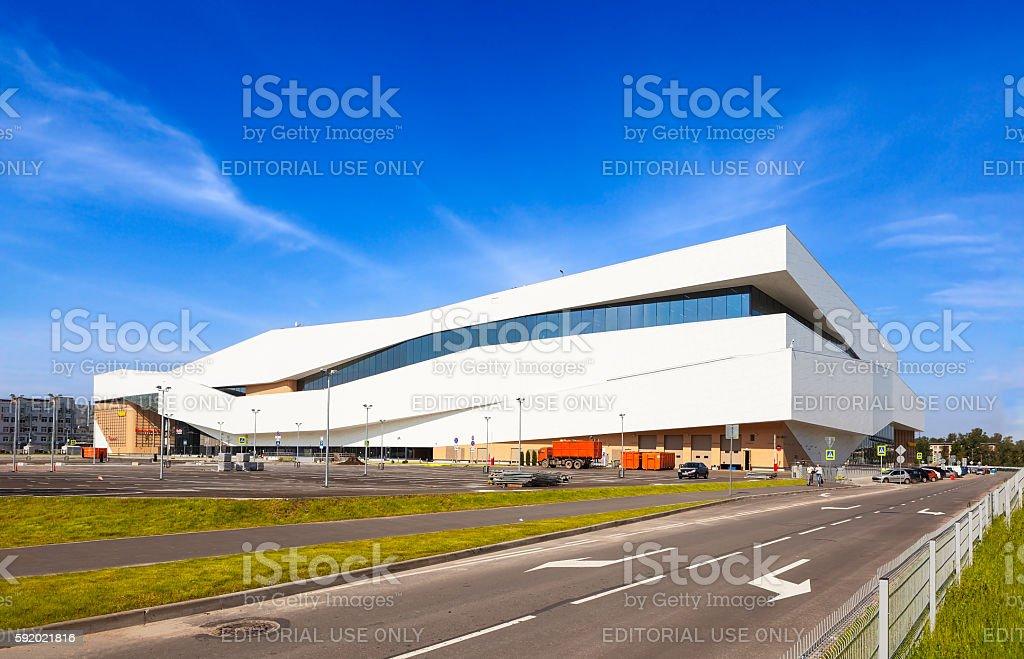 'Ohta Mall'. St. Petersburg. Russia. stock photo