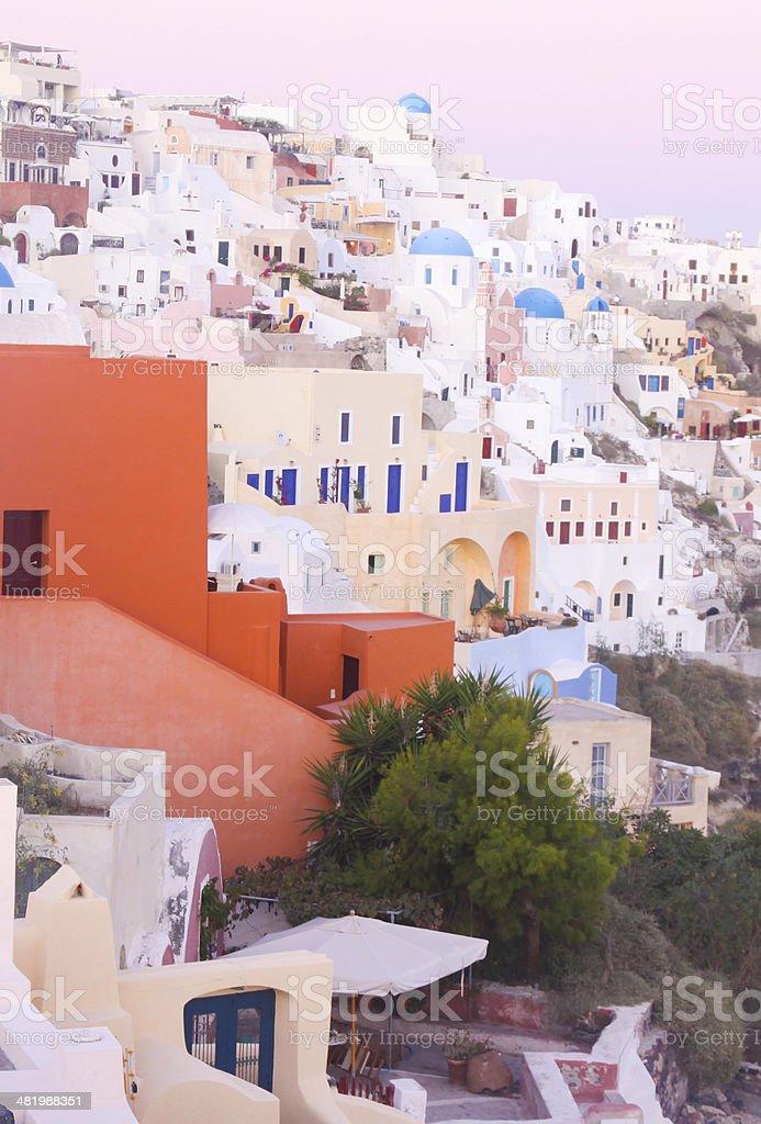Oia in Santorini, Greece royalty-free stock photo