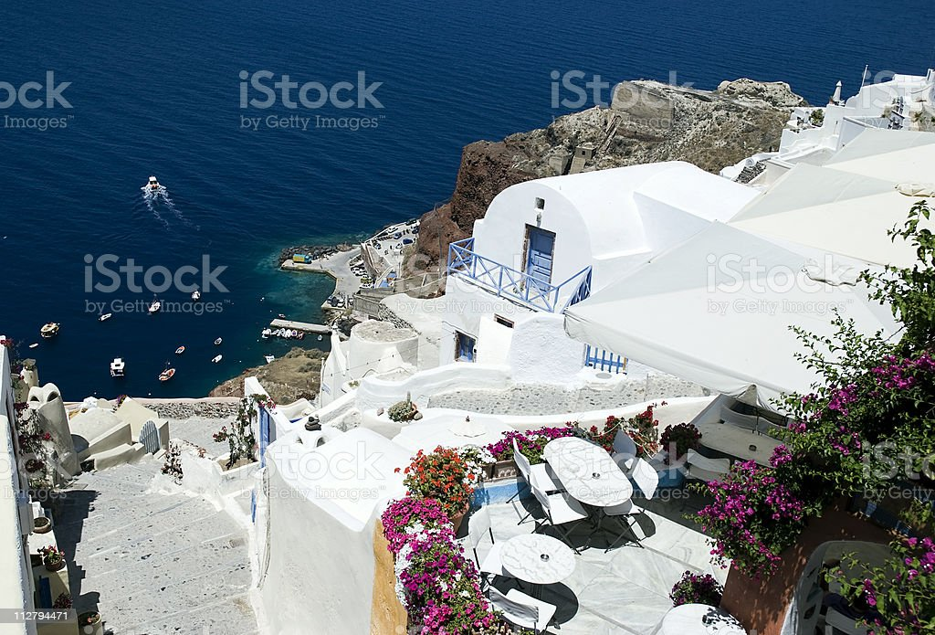 Oia stock photo