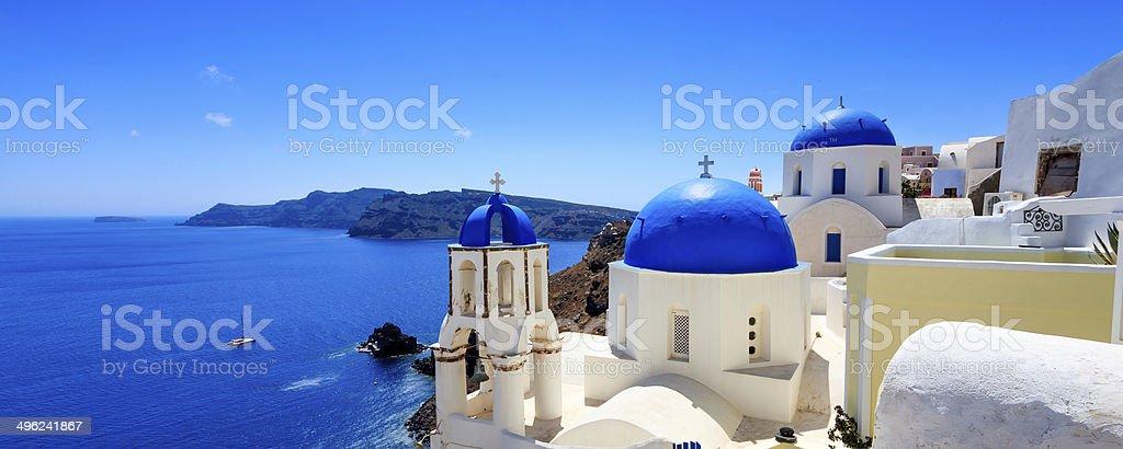 Oia Santorini Greece Europe stock photo