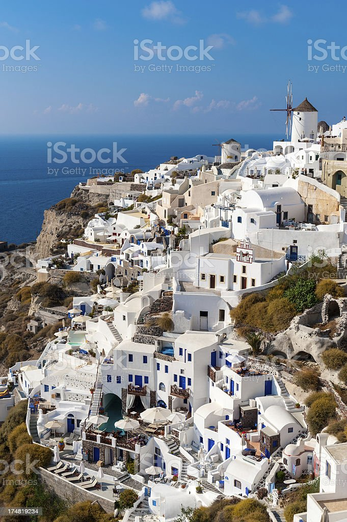 Oia, Santorini, Greece royalty-free stock photo