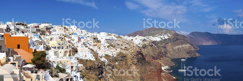 Oia Santorin, Grèce photo libre de droits