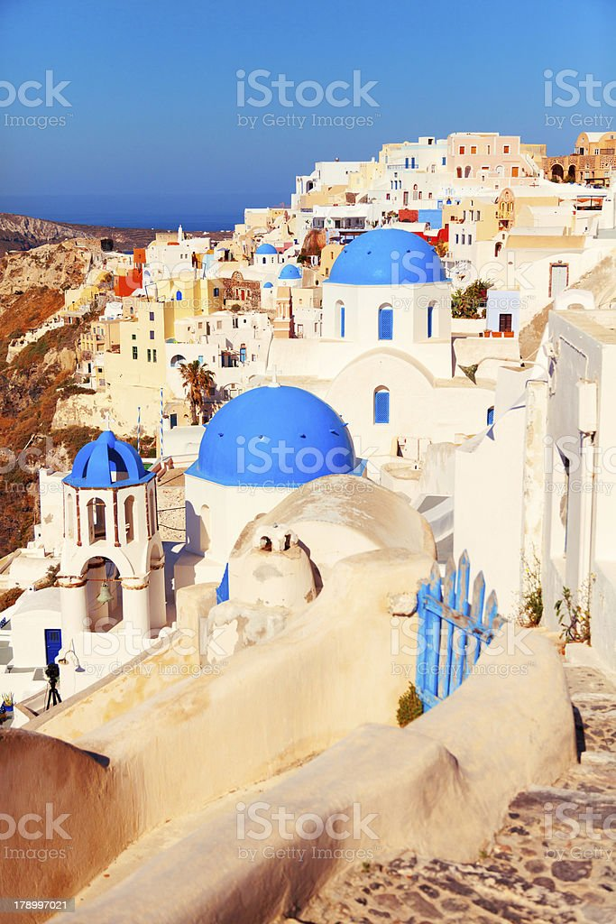 Oia, Santorini royalty-free stock photo